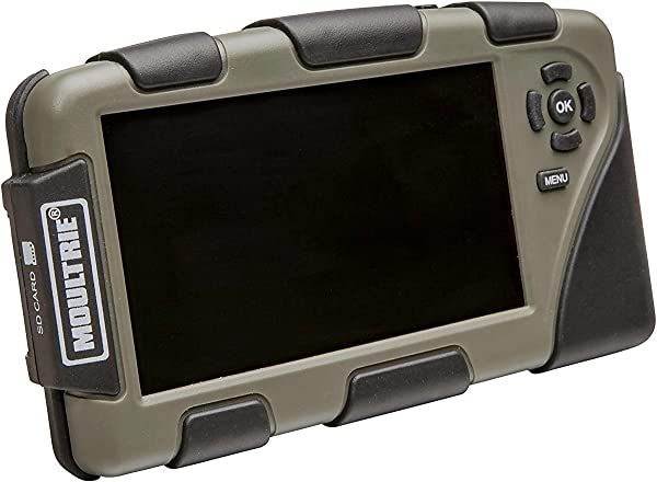 Moultrie 4 3 Picture And Video Viewer Accepts Up To 32 GB Cards Micro USB Connection Headphone Jack
