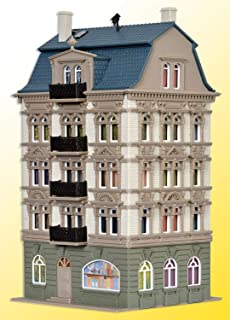 4-STORY HOUSE AT THE PARK CASTLE AVENUE #5 (TWO-TONE GRAY) -- 4-13/32 X 4-21/64 X 7-13/16