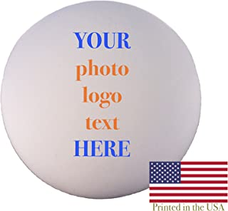 Custom Personalized Lacrosse Ball - Ships in 3 Business Days, High Resolution Photos, Logos & Text on Lacrosse Balls - for Players, Trophies, MVP Awards, Coaches, Personalized Gifts