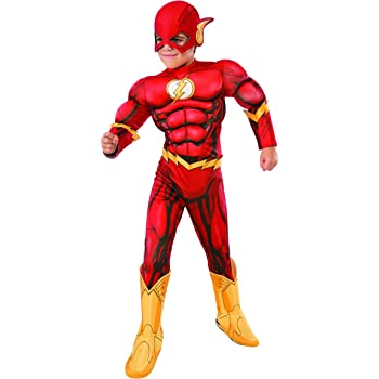 Rubies DC Flash Disfraz, Color multiolour, Small (610832_S ...