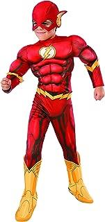 Rubie's Costume DC Superheroes Flash Deluxe Child Costume, Medium