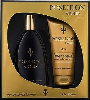 Poseidon Gold Eau de Toilette para Hombre - Set Colonia 150