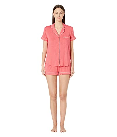 Kate Spade New York Evergreen Fashion Short Pajama Set (Pin Dot) Women