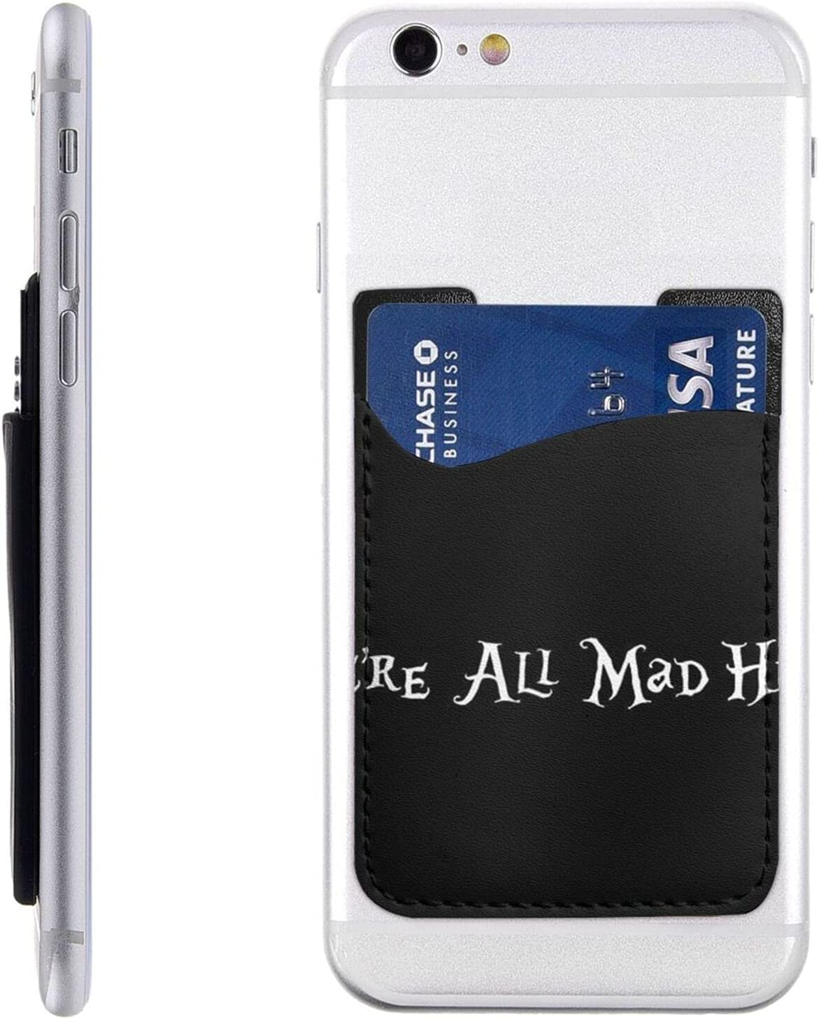 We're All 2021 Mad Here Phone Overseas parallel import regular item Card Cell On Wa Holder Stick