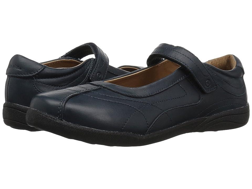 Stride Rite Claire (Little Kid/Big Kid) (Navy) Girls Shoes
