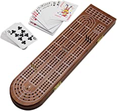 cribbage board with storage