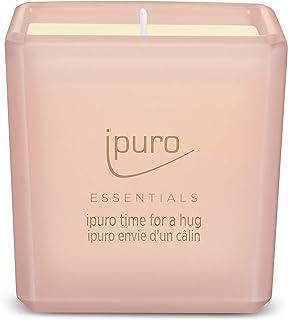 ipuro ESSENTIALS Time for a humg geurkaars, roze, oranje, 125 gram