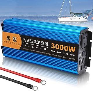 Pure Sine Wave Power Inverter DC 12V/24V to 220V 220V 220V AC Converter, Peak Power 3000W 4500W 6000W 8000W 12000W, Car Tr...