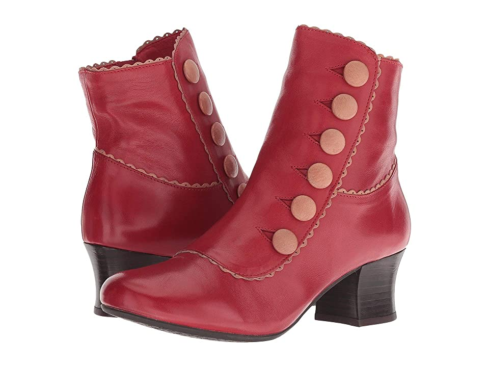 Vintage Boots- Winter Rain and Snow Boots Miz Mooz Fido RedTan Womens Shoes $174.95 AT vintagedancer.com