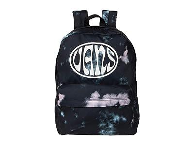 Vans Old Skool III Backpack (Black Tie-Dye) Backpack Bags