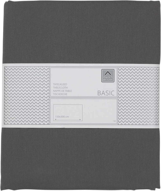 Tischdecke Gent 150x300 cm dunkel grau - Tischwäsche Heimtextilien Tischdecke Tischdecke Tischdecke Tischtuch B01NBE3UP2 5c42ac