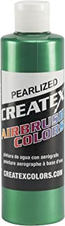 Createx Colors Paint for Airbrush, 8 oz, Pearl Green
