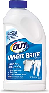 Summit Brands Out White Brite Laundry Whitener, 1 lb. 12 oz. Bottle, 6 Pack