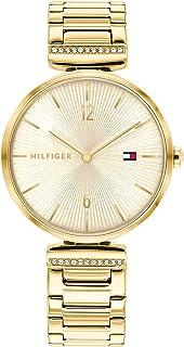 ساعة يد انالوج كوارتز للنساء مع سوار من الستانلس ستيل من تومي هيلفجر، موديل 1782272