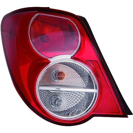 Halogen Tail Light Set For 2012-2016 Chevrolet Sonic LS Hatchback Clear//Red 2Pcs