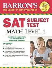 Barron's SAT Subject Test Math Level 1, 5th Edition