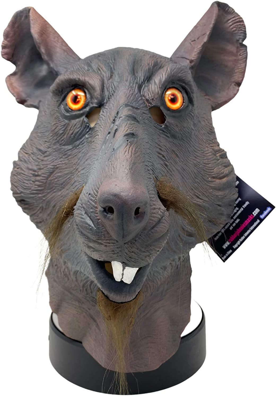 Rat Mask Hero Splinter Ninja Luxury goods Quality Max 48% OFF Movie Turtles C Animal