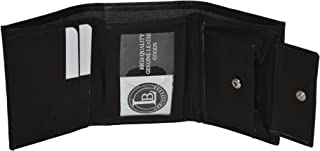 Boys Slim Compact Id and Coin Pocket Trifold Wallet