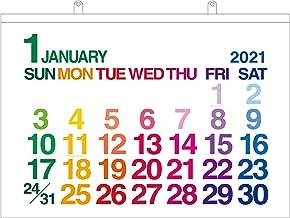 エトランジェディコスタリカ 2021年 カレンダー 壁掛け A1 ホワイト 0102-CLC-A1-01