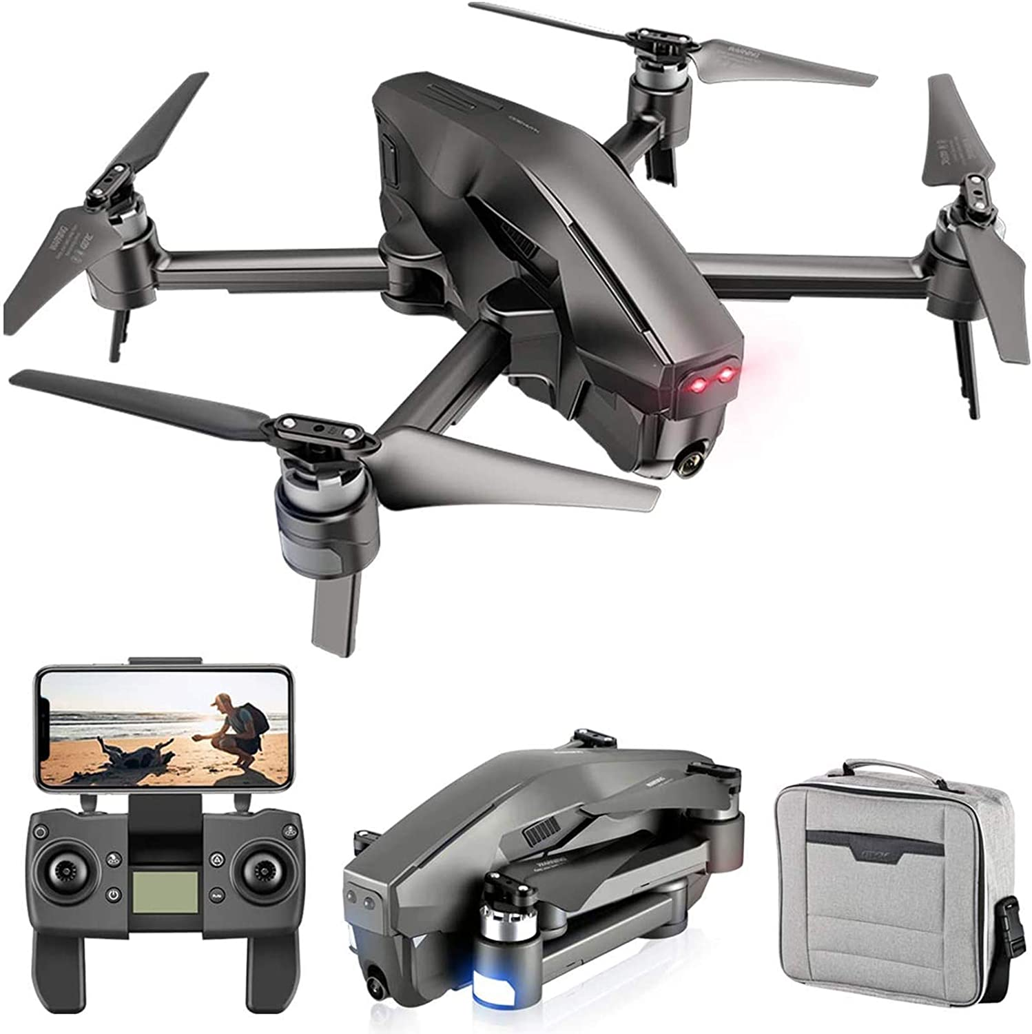 KLJJQAQ Foldable GPS Drone with Inventory New arrival cleanup selling sale 4K FPV FHD Camer Transmission 5G