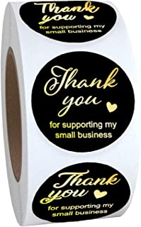 "2"" Label Stickers (4 Styles Black)"