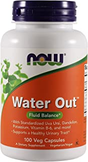 Now Foods, (2 Pack) Water Out, Fluid Balance, 100 Veggie Caps