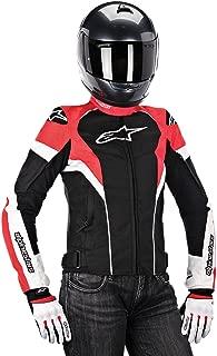 Alpinestars T-GP Plus R Air Women's Street Motorcycle Jackets - Black/White/Red / 2X-Large