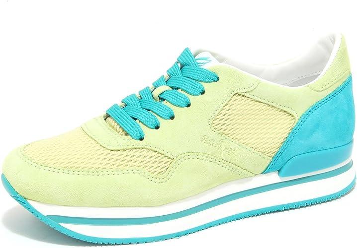 Hogan 6417N Sneaker H222 Lime Verde Scarpe Donna Shoes Women [35.5 ...