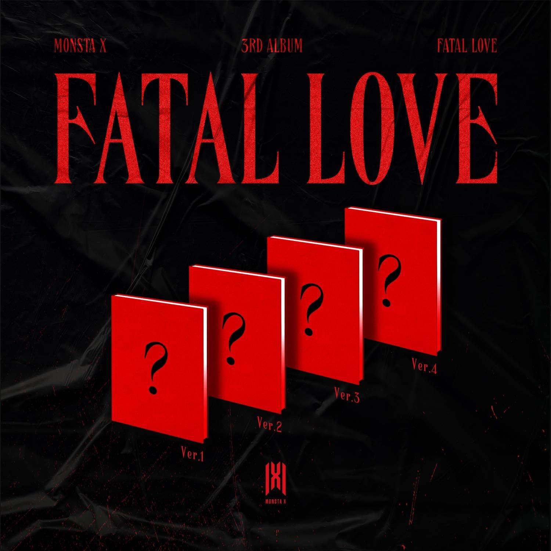 Starship Super special price Entertainment Monsta X Ranking TOP9 Fatal Love Album 1 3 2 Set 3rd