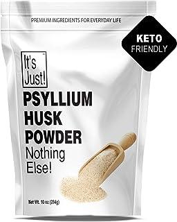 It's Just - Psyllium Husk Powder, Non-GMO, Dietary Fiber, Keto Baking (10oz)
