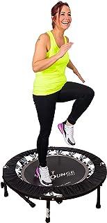 MaXimus HIIT Bounce PRO | Fitness Trampolin Für Erwachsene | Faltbares Minitrampolin..