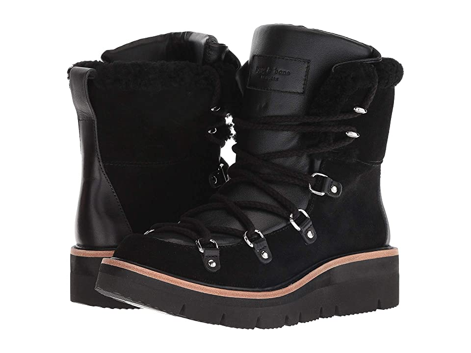 rag & bone Skyler Boot (Black Suede) Women