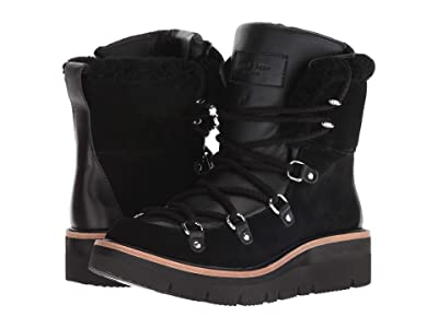 rag & bone Skyler Boot (Black Suede) Women