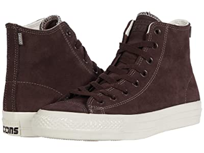 Converse Skate Chuck Taylor(r) All Star(r) Pro Suede Hi (Dark Root/Dark Root/Egret) Skate Shoes