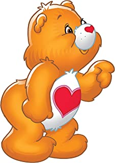 Tender Heart Care Bear Iron On Transfer for T-Shirts & Other Light and Dark Color Fabrics # 9 Divine Bovinity