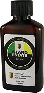 Sir Henry's Aftershave, Soothes, Tones, and Refreshes (Island Estate)