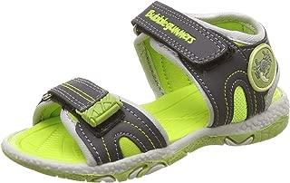 Bubblegummers Boy's ABEL Green Indian Shoes-8 Kids UK/India (26 EU) (1617624)