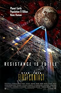 Posters USA - Star Trek VIII First Contact Movie Poster - SST012 (24