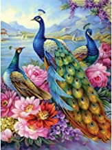 Bits and Pieces - Peacocks 300 Piece Jigsaw Puzzles for Adults - Each Puzzle Measures 18 Inch x 24 inch - 300 pc Jigsaws by Artist Oleg Gavrilov