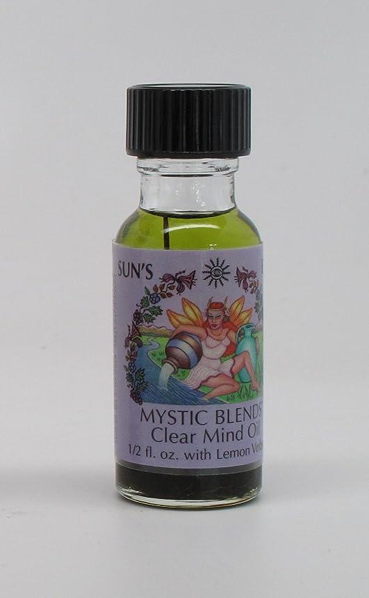 Clear Mind - Sun's Eye Mystic Blends Oils - 1/2 Ounce Bottle