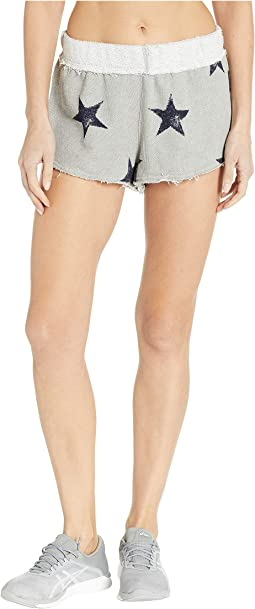 Fleece Star Shorts