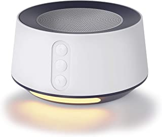 Letsfit White Noise Machine with Baby Night Light for Sleeping, 14 High Fidelity Sleep Machine, Timer & Memory Feature, Sound Machine for Baby & Adults, Home, Office, Travel