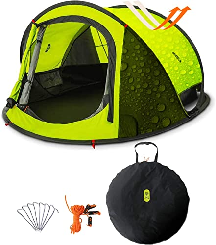Zenph Automatic Instant Pop Up Family Camping Tent