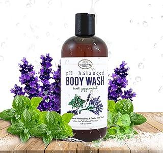 100% Natural Vegan Liquid Bath Soap, pH Balanced Body Wash for Sensitive Skin Naturals Non Toxic Shower Gel for Men Women ...