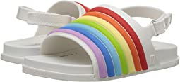 Mini Beach Slide Sandal Rainbow (Toddler/Little Kid)