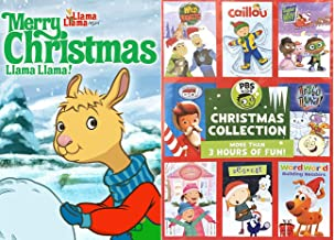 Kraft Brothers Celebrate Christmas PBS Wild Adventure Kids / Caillou / pinkalicious & peterrific Let's GO Luna / Super Why...