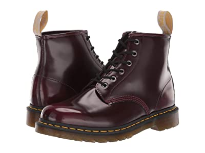 Dr. Martens 101 Vegan (Cherry Red) Boots