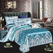 Bedding Duvet Cover 4 Piece Set 4pcs Luxury Home Textile White Bedding Sets Adult Queen King Size Duvet Cover Set Bed Linen Quilt Cover Brief Bedclothes Comforter