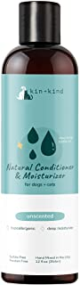 kin+kind Conditioner for Dogs and Cats: Natural, Organic, and Moisturizing, 12 fl oz