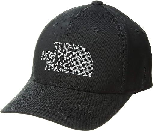 TNF Black Reflective